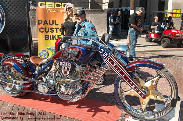 Lone Star Motor Bike Rally - Galveston TX
