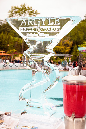 Argyle Grill & Tavern Ice Sculpture