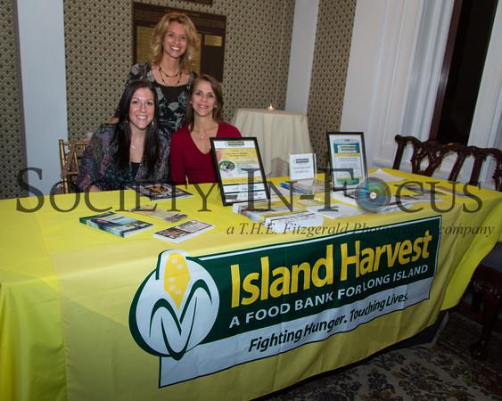 Melissa Buscetta, Debbie Blair, Elissa Weick (Island Harvest)