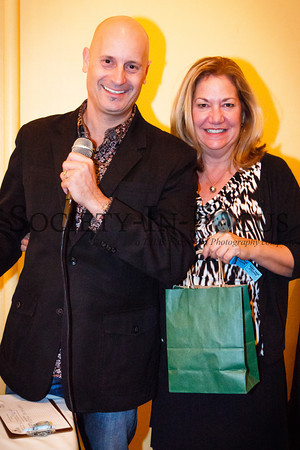Steven Vogel, Valerie Van Cleef (raffle winner)