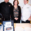 Rigoberto A. Martinez, Elizabeth Campione, Ari Argueta (Ruth's Chris Steak House)