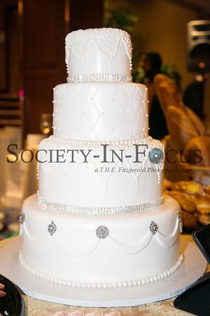 Wedding Cake from Francesco's Bakery