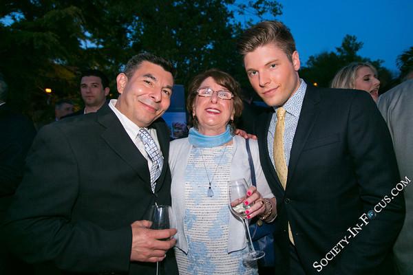 Chef Danny Avalos, Marie Ann Mordeno, Tom Crawford