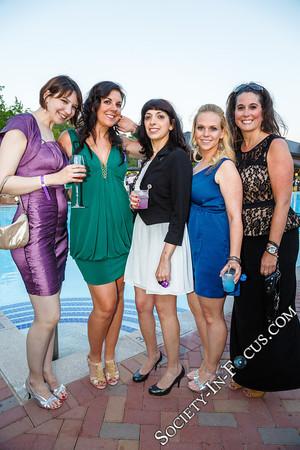 Beth, Suzanne McPartland, Michelle Torres, Courtney, Sue (guests)