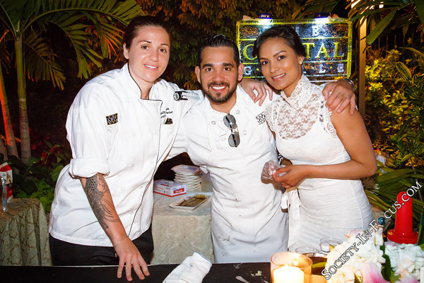Emily Spinazola, Mr. Sanchez, Nikita Simon (The Capital Grille)