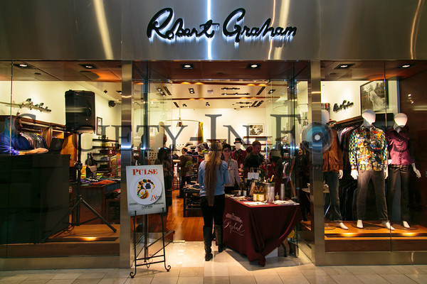 Long Island Pulse Robert Graham Party at Roosevelt Field Mall in