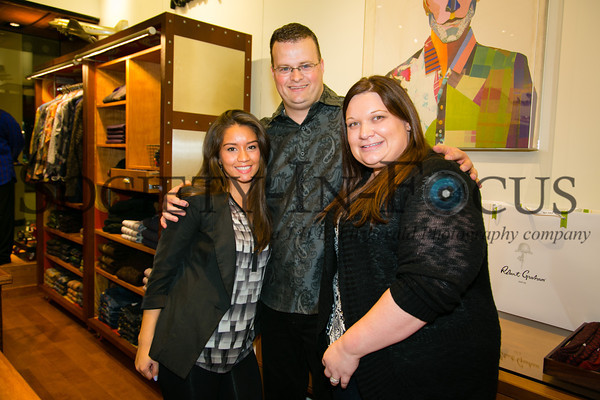 Jessica Cavallero, Aaron McConnell, Jackie Haferkamp