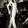 Model on the runway...