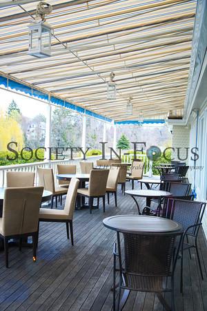 Outdoor Deck at Jellyfish Restaurant