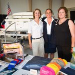 Rachel Sorenson, Bonnie Bruno, Nancy Strong (Strong's Marine)