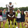 Polo Player and Guests