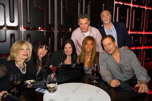 Front Row: Barbara Manes, Elaine Cohen, Lisa Weinstein, Jodi Bradey, John D; Back Row: ??, Joel Cohen