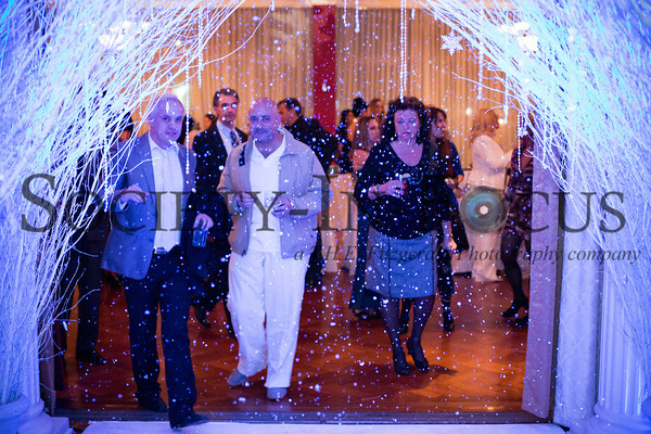 Guests Entering Winter White Ballroom