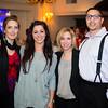 Laura Bamberger, Nicole Skalkos, Nadine Marshall, Jorge Renta