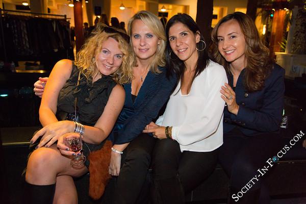 Beata Wroblewski, Anna Triantafillou, Marina Iosif, Tina Mousouroulis