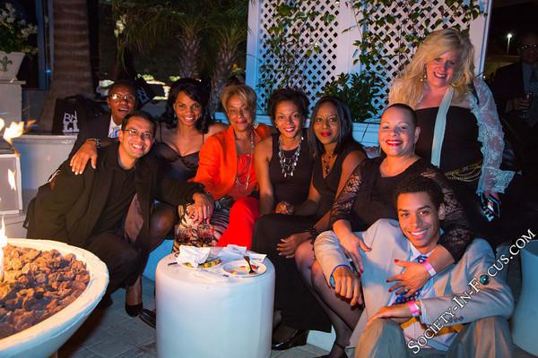 James Lee, Raj Shah, Cherie Alleyne, Kathy Denis, JuJu Quinnonez, Christian Quinnonez, and Friends