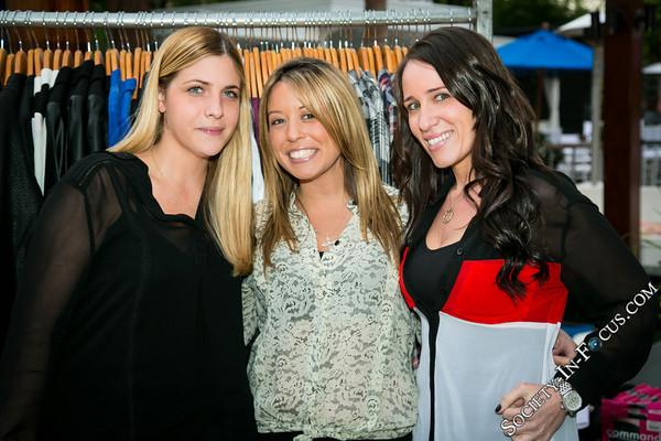 Liz Demonte, Christina Cavaliere, Nicole Hartstein