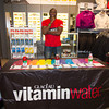 Jacques Prudent with the Vitamin Water Table