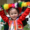 "Maggie Oregon, 2, dances a traditional dance with the grownups during the Peruvian Festival on Sunday.<br /> Hundreds of people gathered at Sandstone Ranch in Longmont on Sunday to celebrate the culture of Peru.<br /> For more photos and a video, go to  <a href=""http://www.timescall.com"">http://www.timescall.com</a> or  <a href=""http://www.dailycamera.com"">http://www.dailycamera.com</a>.<br /> Cliff Grassmick  / July 29, 2012"