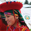 "Adrianne Shols waits near the flag of Peru before her time to dance.<br /> Hundreds of people gathered at Sandstone Ranch in Longmont on Sunday to celebrate the culture of Peru.<br /> For more photos and a video, go to  <a href=""http://www.timescall.com"">http://www.timescall.com</a> or  <a href=""http://www.dailycamera.com"">http://www.dailycamera.com</a>.<br /> Cliff Grassmick  / July 29, 2012"