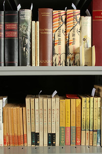 """The Margaret Mitchell collection includes numerous editions of """"Gone With The Wind"""" in many different languages from around the world."""