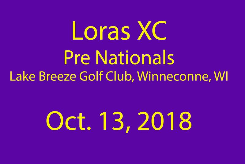 LorasCC Pre Nats