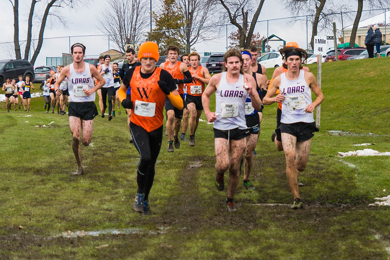 Mark Morgan Anthony Kemp & Nathan Vail Loras XC Conference 6392 Nov 2 2019