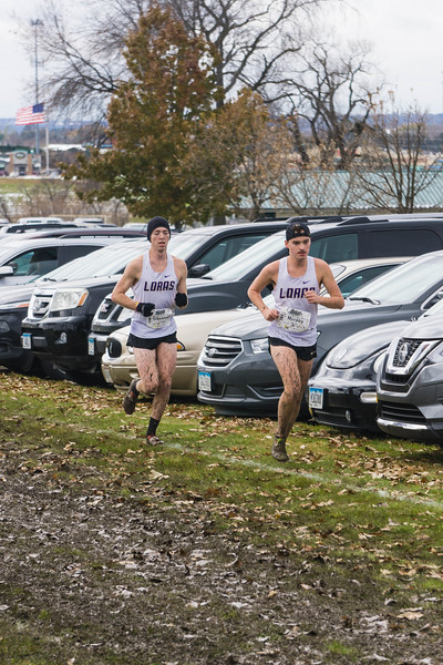 Tyler Glassman & Ryan Murphy Loras XC Conference 0261 Nov 2 2019