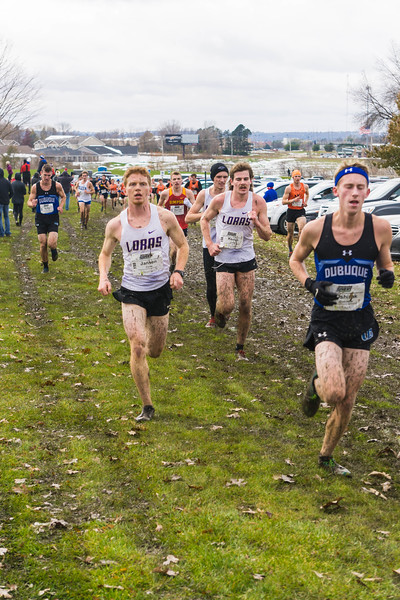 Jake Jansen DevinTervelt & Anthony Kemp Loras XC Conference 0184 Nov 2 2019