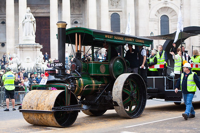 The Lord Mayor's Show 2011 - West Sussex County Council Steam Engine