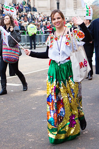 The Lord Mayor's Show 2011 - Mexican Chamber of Commerce