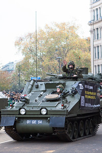 The Lord Mayor's Show 2011 - Army vehicles take to the streets of London