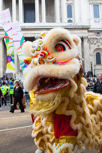 The Lord Mayor's Show 2011 - Hong Kong, Chinese Lion