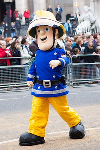 The Lord Mayor's Show 2011 - Fireman Sam