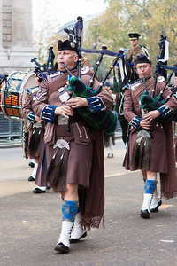 The Lord Mayor's Show 2011 - Scottish Piper's