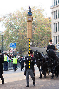 The Lord Mayor's Show 2011 - Big Ben on the move
