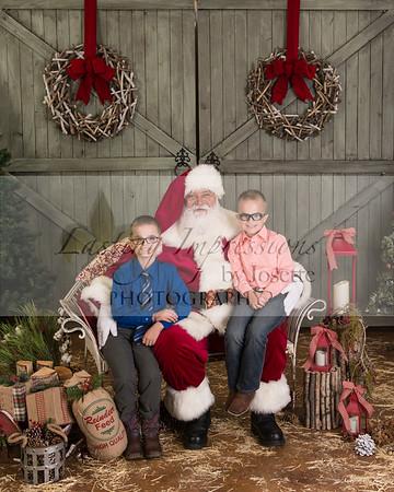 Lori Sonnier A Visit with Santa