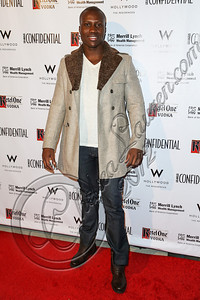 HOLLYWOOD, CA - OCTOBER 08:  Actor Amadou Ly arrives at Los Angeles Confidential Magazine Celebrates Their Men's Issue Cover Party with Dennis Quaid at The Residences At W Hollywood on October 8, 2012 in Hollywood, California.  (Photo by Chelsea Lauren/WireImage)