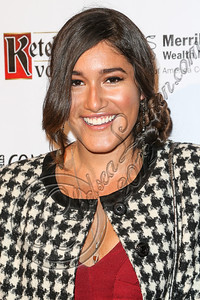 HOLLYWOOD, CA - OCTOBER 08:  Actress Q'orianka Kilcher arrives at Los Angeles Confidential Magazine Celebrates Their Men's Issue Cover Party with Dennis Quaid at The Residences At W Hollywood on October 8, 2012 in Hollywood, California.  (Photo by Chelsea Lauren/WireImage)