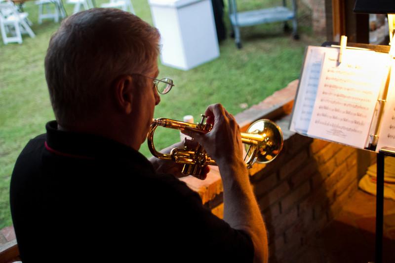 Steve Severance on Trumpet.