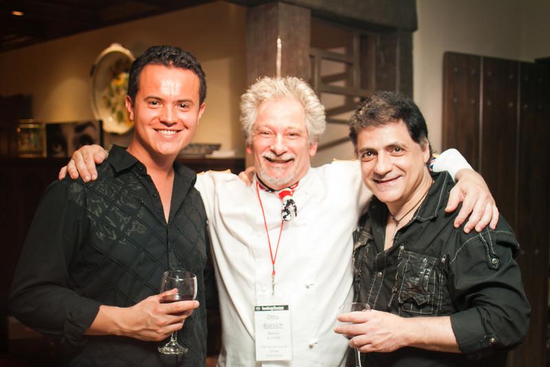 Daniel Pardo, Otto Borsich, Giampiero Scuderi
