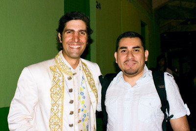 Pedro Louceiro III was kind enough to pose with me after the end of the corrida.