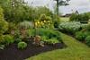 The garden at the Farmer's Delight Plantation.