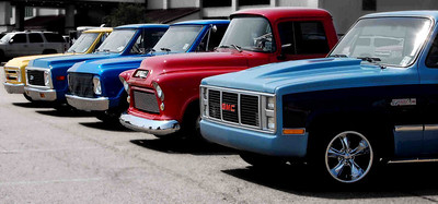 Louisiana Classic Truck Club @ the Louisiana Southern Fried Festival in Monroe, LA