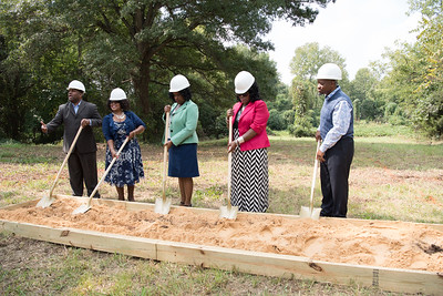 Groundbreaking Cermony for Love Fellowship Chruch