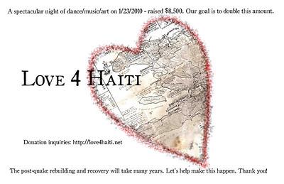 Love 4 Haiti  http://www.love4haiti.net/