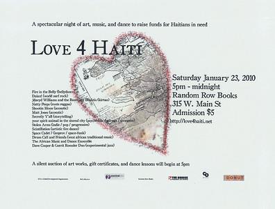 Love 4 Haiti Fundraiser   http://www.love4haiti.net/