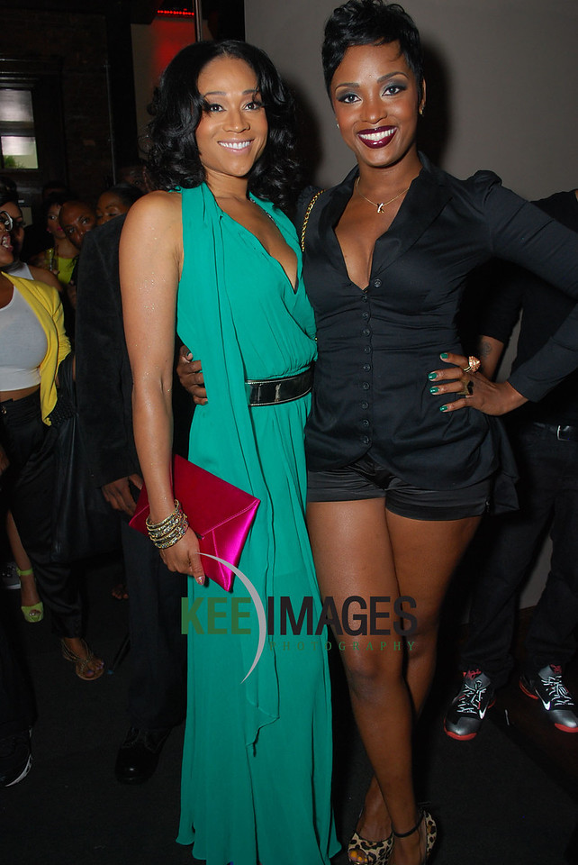 Cast - Mimi Faust and Ariana