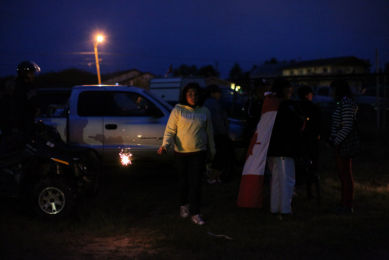 Canada Day July 1st 2009 in Moosonee