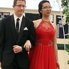 Lowell Catholic pre-prom procession at the gym. (SUN/Julia Malakie)